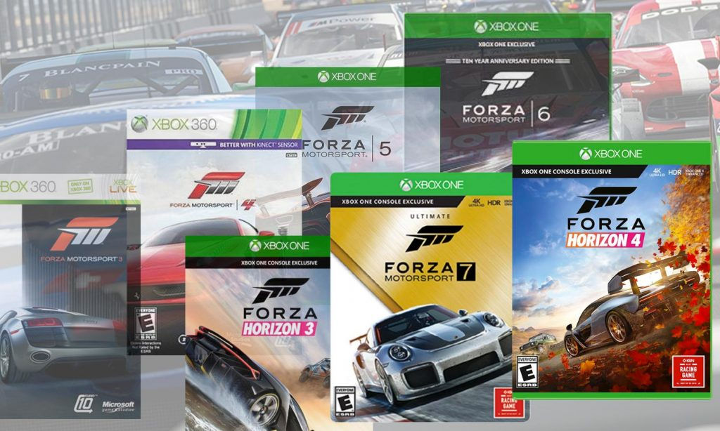 Create Tunes for All of Your Favorite Forza Games