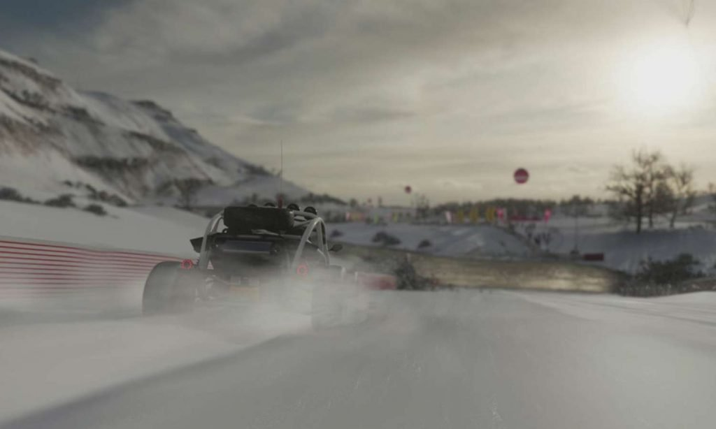Merry Christmas! And How to Avoid Driving a Sled in Forza.