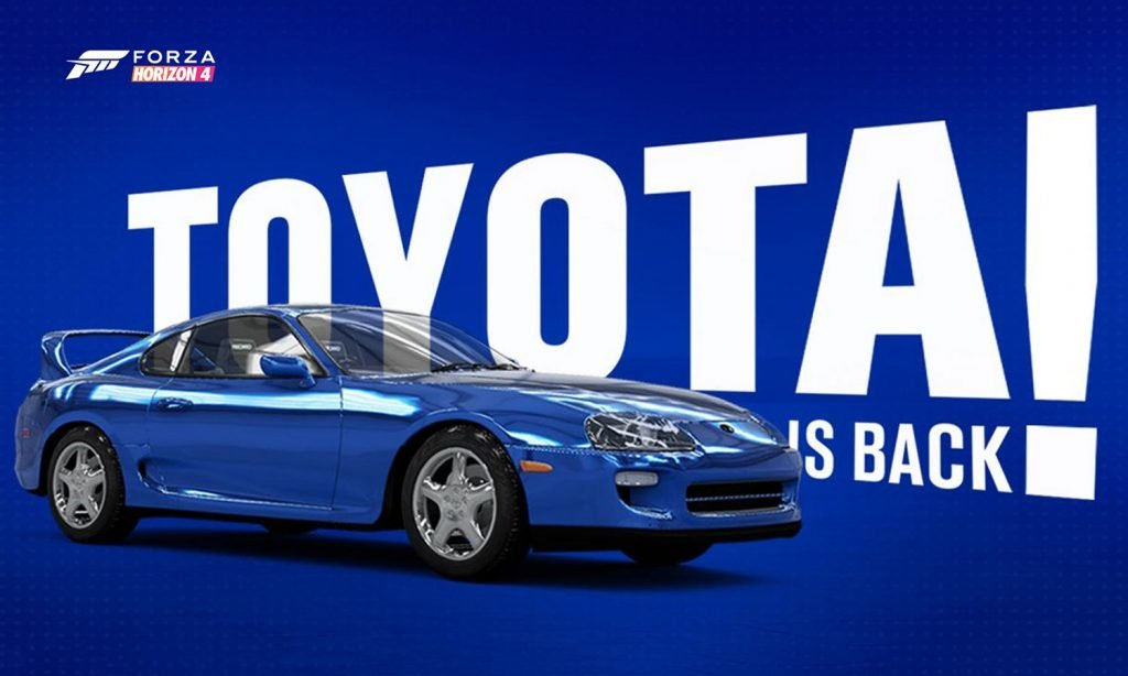 Supra Returns and More in Series 17 Update to ForzaTune